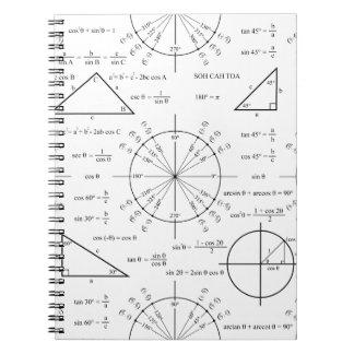 Trig & trianglar anteckningsbok
