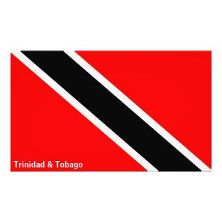 Trinidad och Tobago flagga Fototryck