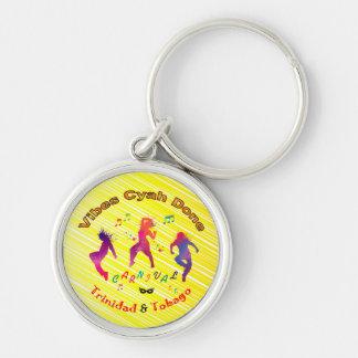 Trinidad och Tobago karneval Nyckel Ring