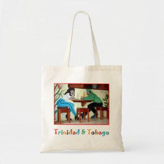 Trinidad och Tobago rom shoppar plats Tygkasse