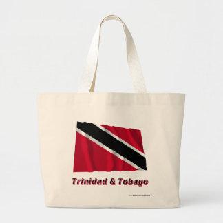 Trinidad och Tobago som vinkar flagga med namn Kasse
