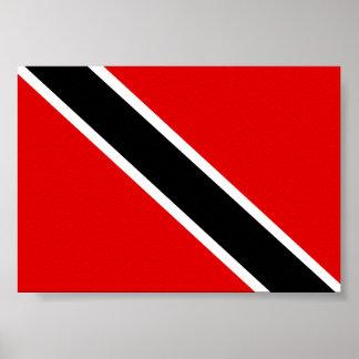 Trinidad Tobago flagga Poster