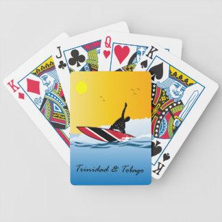 Trinidad & Tobago surfare Spelkort