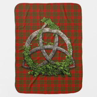 Trinity för Celtic för klanLivingstone Tartan Bebisfilt