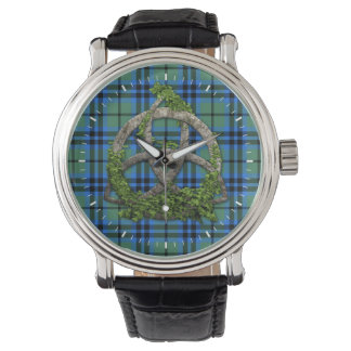 Trinity för Celtic för klanMarshall Tartan Armbandsur