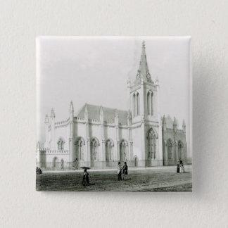 Trinitykyrka, port - av - spain standard kanpp fyrkantig 5.1 cm