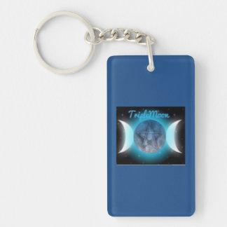 TripleMoon Keychain Nyckelring