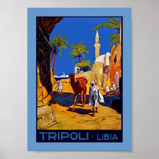 Tripoli - Libia (Libyen) Poster