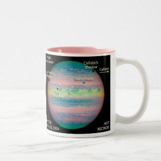 Trippelförmörkelse för NASA Jupiter Två-Tonad Mugg