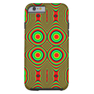 trippy färger tough iPhone 6 fodral