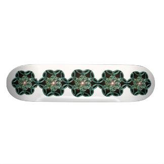 Triquetra cirklar fnurraskateboarden mini skateboard bräda 18,5 cm