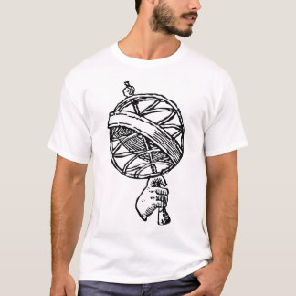 Trismegistus planlägger dubbellogotyper t shirts
