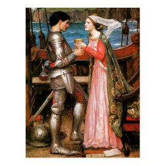 Tristan och Isolde Vykort