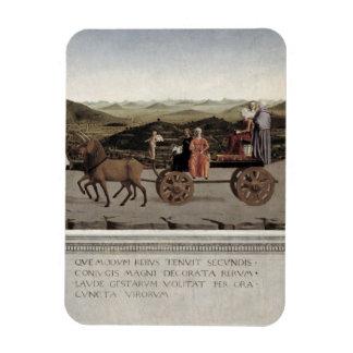 Triumf av Battista Sforza, hertiginna av Urbino. F Magnet