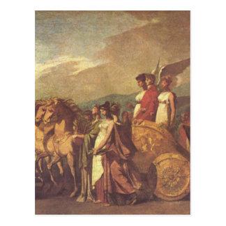 Triumf av Bonaparte och fred av Pierre-Paul Vykort