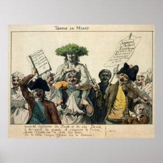 Triumf av Marat Poster