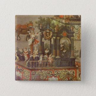 Triumfen av ärkehertiginnan standard kanpp fyrkantig 5.1 cm