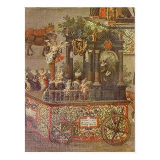 Triumfen av ärkehertiginnan vykort
