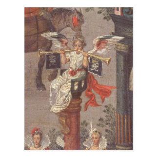 Triumfen av Isabella Vykort