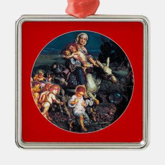 Triumfen av oskyldigarna av William H. Jaga Julgransprydnad Metall