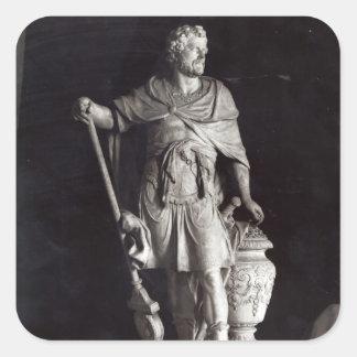 Triumfera Hannibal, 1722 Fyrkantigt Klistermärke