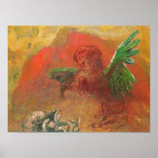 Triumfera Pegasus Poster