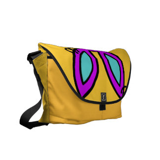 Trixie - messenger bag (gult)