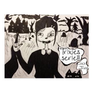 Trixie & Truls vykort