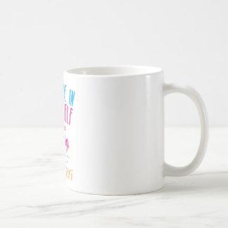 Tro i dig (och unicorns) kaffemugg