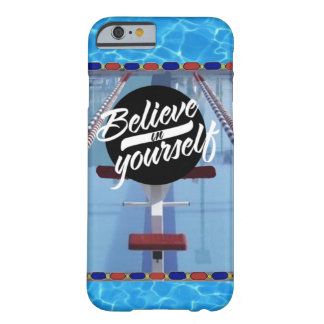 Tro i dig simmareiphone case barely there iPhone 6 skal