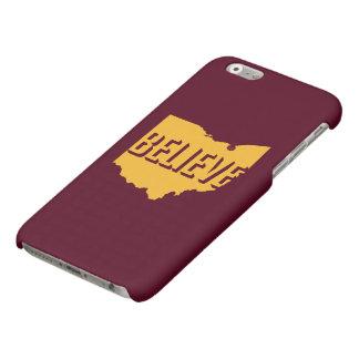 Tro i guld för fodral för den Cleveland iPhonen