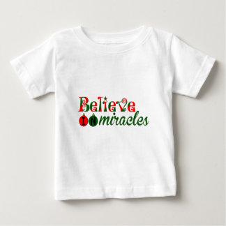 Tro i mirakel t-shirts