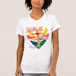 Tro kärlek, kärlek Jesus för Hopp alltid T Shirt