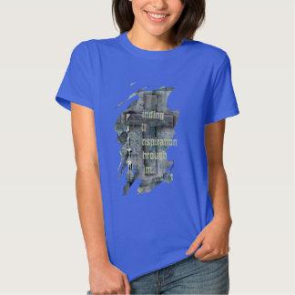 tro kristna skjortor, arg andlig design t-shirt