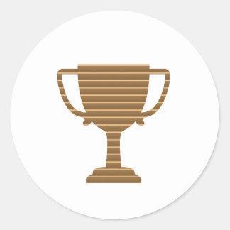 Trofékopputmärkelsen spelar sportkonkurrens NVN280 Runt Klistermärke