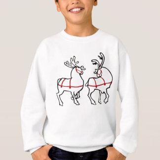 Tröja för barn för jul för renskjorta festlig