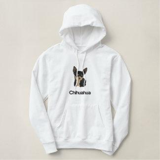 Tröja för broderi för Chihuahuahundkonst