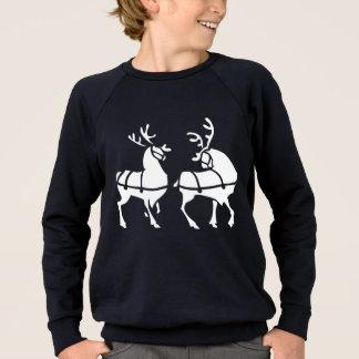 Tröja för jul för barn för renskjorta