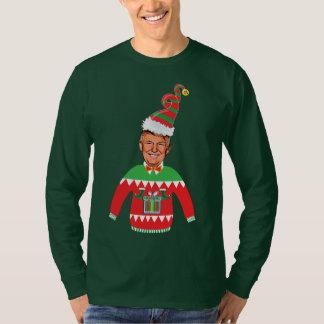 Tröja för jul för Donald Trump jul ful