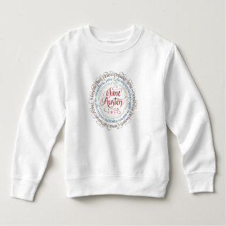 Tröja för ull för småbarn för Jane Austen
