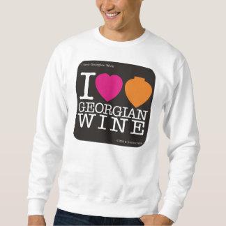 """Tröjan """"älskar jag georgiskt vin """", sweatshirt"""