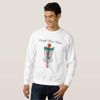 Tröjan för hål för diskettgolfnordpolen lång ärmad tröja