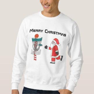 Tröjan för jul för diskettgolf den fula lång ärmad tröja