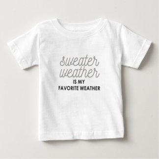 Tröjaväder är mitt favorit- väder t shirt