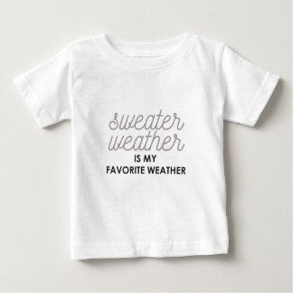 Tröjaväder är mitt favorit- väder t-shirt