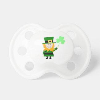 Troll med klöver 3-Leaf, Sts Patrick dag Napp