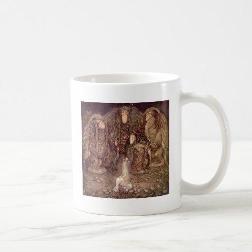 Troll och princessen kaffe koppar