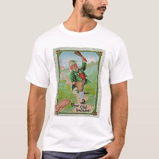 Troll. Vintage bild. St klappar dagfirande T Shirt