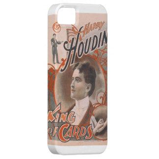 Trollkarl Harry Houdini kungen av kort iPhone 5 Case-Mate Fodral
