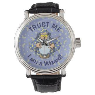 Trollkarl med boll armbandsur